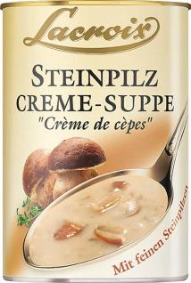 Lacroix Steinpilz Creme Suppe mit feinen Steinpilzen 400ml 3er Pack