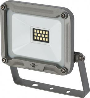 Brennenstuhl LED Strahler JARO 1000 900lm 10W IP65 für außen in silber
