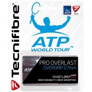 Tecnifibre Tennis Griffband Pro Overlast schwarz ATP World Tour 21521