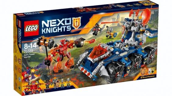 Lego Nexo Knights 70322 Axls mobiler Verteidigungsturm Einzelteile