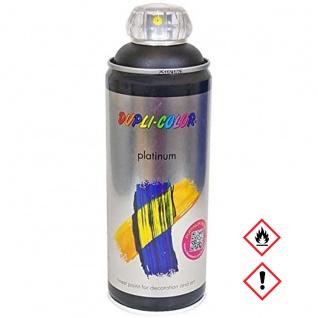 Dupli Color Platinum RAL 9007 Tiefschwarz seidenmatt Spraydose 400ml