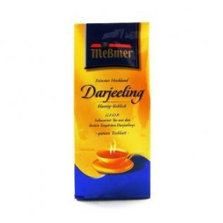 Meßmer Feinster Darjeeling Ganzes Teeblatt blumig lieblich 150g