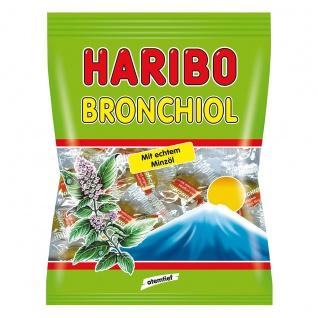 Haribo Bronchiol Minze mit Minzgeschmack und echtem Minzöl 100g