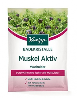 Kneipp Badekristalle Muskel Aktiv, 6er Pack (6 x 60 g)