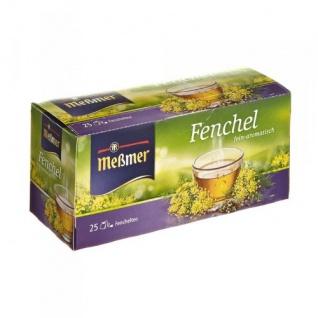 Meßmer Fenchel Kräutertee fein aromatisch 25 Teebeutel 12er Pack
