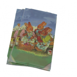 Schmuckbeutel für Ostern Easter Gift Bag mit Boden 145 x 235mm