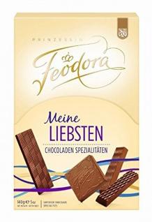 Feodora Meine Liebsten Pralinen Chocoladen Spezialitäten 140g
