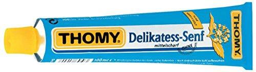 Thomy Delikatess Senf mittelscharf der Klassiker aus der Tube 100ml