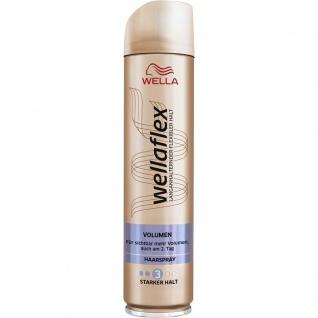 Wellaflex Volumen Haarspray Starker Halt natürliches Styling 250ml 6er Pack