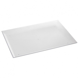 Fingerfood Tabletts glasklar Polystyrol Papstar 37 x 27 cm 6 Stück