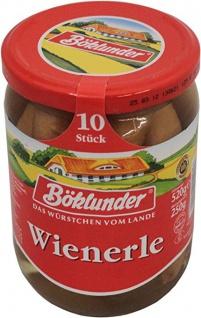 Böklunder Wienerle im Saitling, 10 Stück, Abtrobfgewicht 250 g