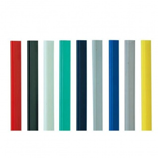 Durable Klemmschienen schwarz A4 für maximal 30 Blatt inhalt 10 Stück