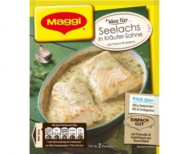 Maggi Fix Seelachs in Kräuter-Sauce Fix für zwei Portionen 33g