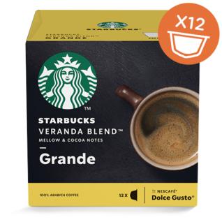 Starbucks Dolce Gusto Veranda Blend Grande Arabica Kaffee 12 Kapseln