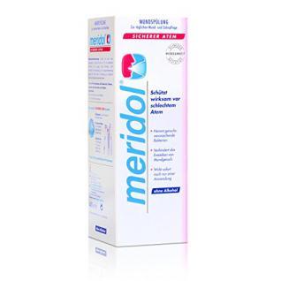 Meridol Mundspülung sicherer Atem 400ml - ohne Alkohol