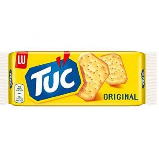 Tuc Cracker Snack Klassiker Salzgebäck Original Geschmack 100g