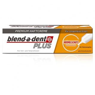 blend-a-dent Super-Haftcreme für Zahnersatz Krümelschutz je 40g 3er Pack