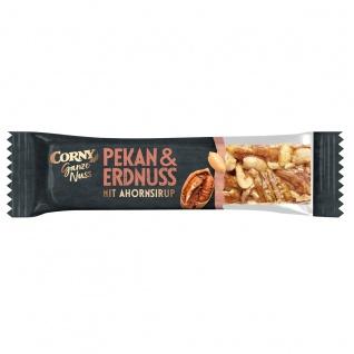 Corny Ganze Nuss Pekan und Erdnuss mit Ahornsirup Nussriegel 40g