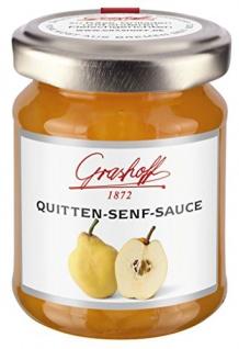 Grashoff - Quitten-Senf-Sauce - 125ml