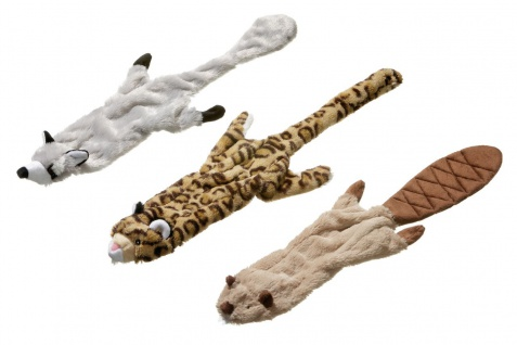 Hundespielzeug Premium Plüschspielzeug Wildzoo mit Quitscher L: 600mm B: 120mm