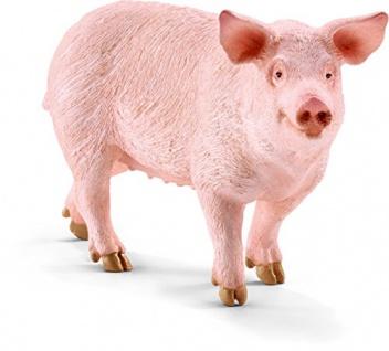 Schleich 13782 - Schwein, Tier Spielfigur