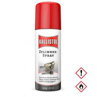 Ballistol Zylinderspray Spezial Öl mit Keramik Partikelnl 50ml