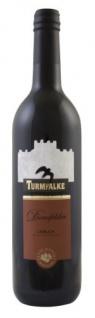 Turmfalke Dornfelder Rotwein Lieblich Qualitätswein aus Hessen 750ml