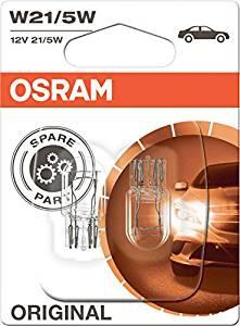 Osram KFZ Glühlampe 7515 12V W21/5W Halogenlampen Doppelblister