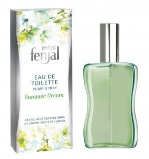 Miss Fenjal Eau de Toilette Summer Dream Pump Spray Orangenblüte 50ml - Vorschau 1