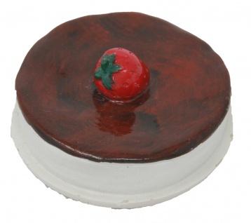 Magnet im Kuchen Desgin Farbe Braun Durchmesser 35mm 1 Stück