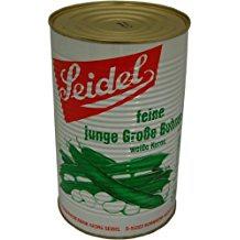 Seidel jg.große Bohnen weiße Kerne