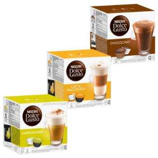 Nescafé Dolce Gusto Cream Collection, Kaffee, Kaffeekapsel, 3 Sorten, 48 Kapseln (24 Portionen)