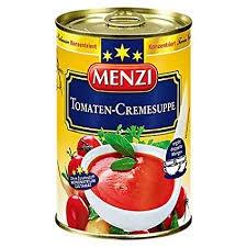 Menzi Tomaten-Cremesuppe, 3er Pack (3 x 212 ml)