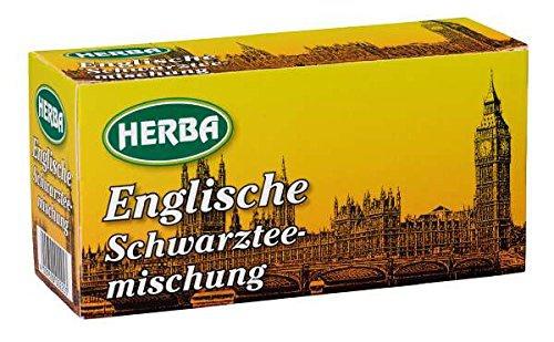 Herba Englische Schwarztee Mischung aromatisch 30g 10er Pack