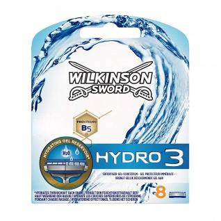 Wilkinson Hydro3 Klingen 8 Stück in einer Packung für den Mann