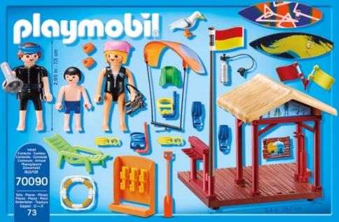 Playmobil Family Fun Wassersport Schule Konstruktionsspiel 70090