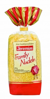 Jeremias Suppenbuchstaben, Classic Frischei-Family-Nudeln, 4er Pack (4 x 500 g Beutel)