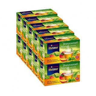 Meßmer Brennnessel Mango Kräutertee mit Mango Aroma 10er Pack