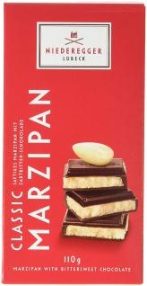 Niederegger Marzipan Tafel Classic Zartbitter Schokolade 110g