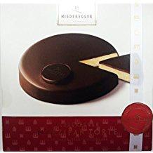 Niederegger saftige Marzipan Torte Zartbitter Schokolade 185g