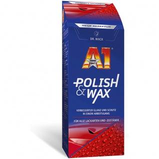 Dr. Wack A1 Polish und Wax Witterungs und Umwelteinflüssen 500ml