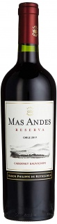 Mas Andes Reserva Cabernet Sauvignon trockener Rotwein 750 ml