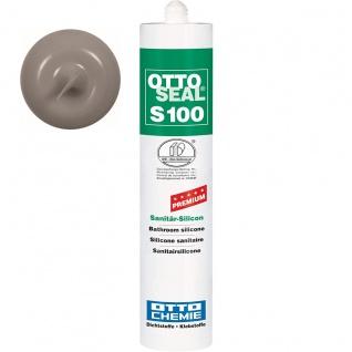 Ottoseal Premium Sanitär Silicon S 100 Farbe C 43 manhattan 300ml