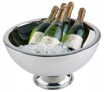 APS - Edelstahl Silber, Champagnerkühler doppelwandig, 10, 5l
