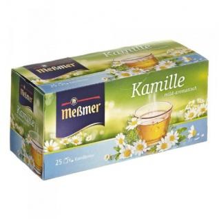 Meßmer Kamille Teegetränk milder blumiger Kräutertee 12er Pack