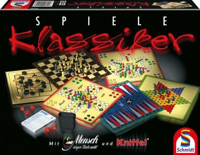 Schmidt 49120 Spiele Klassiker Eine Spielesammlung ab 6 Jahren