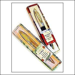 Kugelschreiber Clip mit Buchstabengravur U in einem schicken Etui
