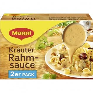 Maggi Kräuter Rahm Sauce perfekt zu Schnitzel 2er für 2x 250ml