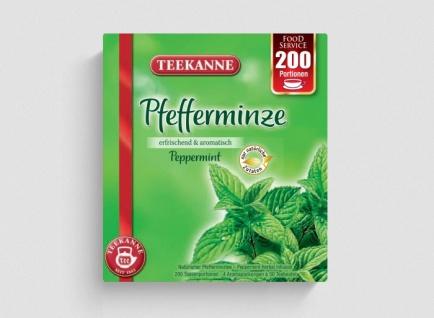 Teekanne Teekanne Pfefferminze 4x50 Teebeutel pro Packung 250g