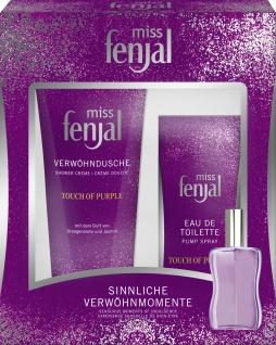 miss fenjal Geschenk Set Eau de Toilette und Dusche Touch of Purple